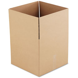 GEN Fixed-Depth Shipping Boxes, Regular Slotted Container (RSC), 18 in x 18 in x 16 in, Brown Kraft, 15/Bundle