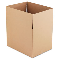 GEN Fixed-Depth Shipping Boxes, Regular Slotted Container (RSC), 24 in x 18 in x 18 in, Brown Kraft, 10/Bundle