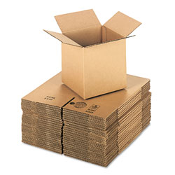 GEN Cubed Fixed-Depth Shipping Boxes, Regular Slotted Container (RSC), 8 in x 8 in x 8 in, Brown Kraft, 25/Bundle