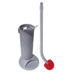 Unger Ergo Toilet Bowl Brush Complete: Wand, Brush Holder & 2 Heads