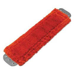 Unger Mop Head, Microfiber, Heavy-Duty, 16 x 5, Red