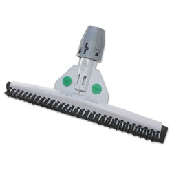 Unger SmartFit Sanitary Brush, 22 in, Black/White