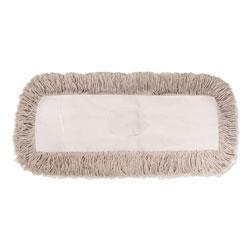 Boardwalk Industrial Dust Mop Head, Hygrade Cotton, 36w x 5d, White