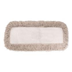 Boardwalk Industrial Dust Mop Head, Hygrade Cotton, 60w x 5d, White