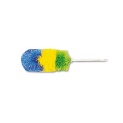 Boardwalk Polywool Duster w/20 in Plastic Handle, Assorted Colors