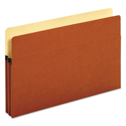 Universal Office Products Redrope Expanding File Pockets, 1.75 in Expansion, Legal Size, Redrope, 25/Box