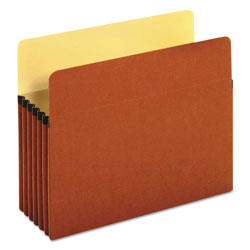 Universal Office Products Redrope Expanding File Pockets, 5.25 in Expansion, Letter Size, Redrope, 10/Box