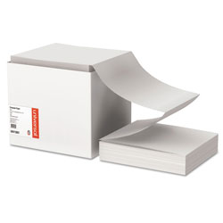 Universal Office Products Printout Paper, 1-Part, 18lb, 9.5 x 11, White, 2, 700/Carton