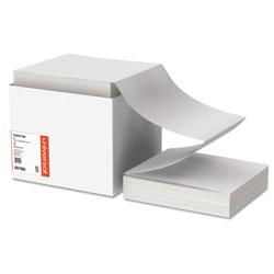 Universal Office Products Printout Paper, 1-Part, 20lb, 9.5 x 11, White, 2, 400/Carton