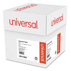 Universal Office Products Printout Paper, 1-Part, 20lb, 9.5 x 11, White, 2, 300/Carton