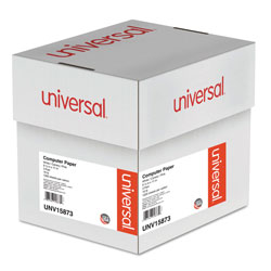 Universal Office Products Printout Paper, 3-Part, 15lb, 9.5 x 11, White/Canary/Pink, 1, 200/Carton