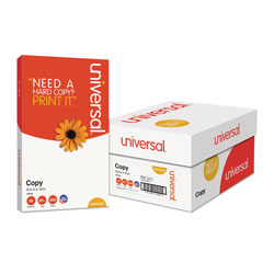 Universal Office Products Copy Paper, 92 Bright, 20lb, 8.5 x 14, White, 500 Sheets/Ream, 10 Reams/Carton