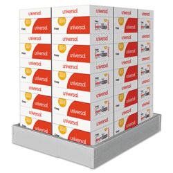 Universal Office Products Copy Paper, 92 Bright, 20lb, 8.5 x 14, White, 500 Sheets/Ream, 10 Reams/Carton, 30 Cartons/Pallet