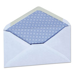 Universal Office Products Business Envelope, #6 3/4, Monarch Flap, Gummed Closure, 3.63 x 6.5, White, 250/Box