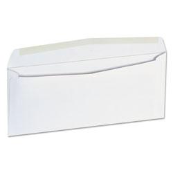 Universal Office Products Business Envelope, #9, Squar Flap, Gummed Closure, 3.88 x 8.88, White, 500/Box