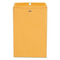 Universal Office Products Kraft Clasp Envelope, #98, Square Flap, Clasp/Gummed Closure, 10 x 15, Brown Kraft, 100/Box