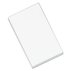 Universal Office Products Scratch Pads, Unruled, 3 x 5, White, 100 Sheets, 12/Pack