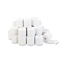 Universal Office Products Impact & Inkjet Print Bond Paper Rolls, 0.5 in Core, 2.25 in x 130ft, White, 100/Carton