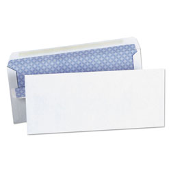 Universal Office Products Self-Seal Business Envelope, #10, Square Flap, Self-Adhesive Closure, 4.13 x 9.5, White, 500/Box