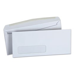Universal Office Products Business Envelope, #10, Monarc Flap, Gummed Closure, 4.13 x 9.5, White, 500/Box