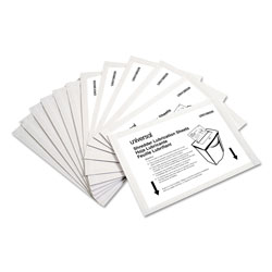 Universal Office Products Shredder Lubricant Sheets, 5.5 in x 2.8 in, 24/Pack