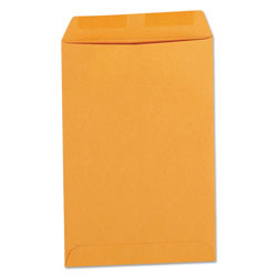 Universal Office Products Catalog Envelope, #1, Square Flap, Gummed Closure, 6 x 9, Brown Kraft, 500/Box