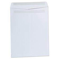 Universal Self-Stick Open-End Catalog Envelope, #13 1/2, Square Flap, Self-Adhesive Closure, 10 x 13, White, 100/Box