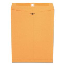 Universal Office Products Kraft Clasp Envelope, #97, Square Flap, Clasp/Gummed Closure, 10 x 13, Brown Kraft, 100/Box