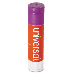 Universal Office Products Glue Stick Value Pack, 0.28 oz, Applies Purple, Dries Clear, 30/Pack