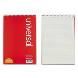Universal Office Products Steno Books, Gregg Rule, 6 x 9, Green Tint, 70 Sheets