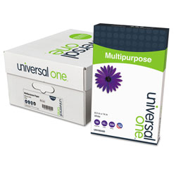 Universal Office Products Deluxe Multipurpose Paper, 98 Bright, 20lb, 8.5 x 14, Bright White, 500 Sheets/Ream, 10 Reams/Carton