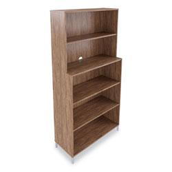 Union & Scale™ Essentials Laminate Bookcase, Five-Shelf, 35.8 x 14.9 x 72, Espresso