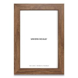 Union & Scale™ Essentials Wood Picture Frame, 4 x 6, Espresso Frame