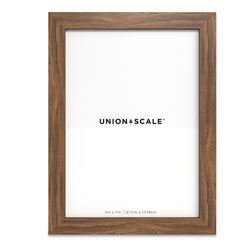 Union & Scale™ Essentials Wood Picture Frame, 5 x 7, Espresso Frame