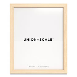 Union & Scale™ Essentials Wood Picture Frame, 8 x 10, Natural Frame
