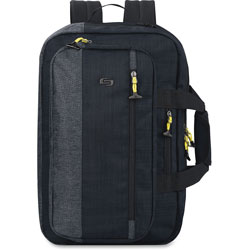 Solo Hybrid Backpack, Holds 15.6 in Laptop, Blue/Gray