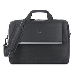 Solo Urban Briefcase, 17.3 in, 16 1/2 x 3 x 11, Black