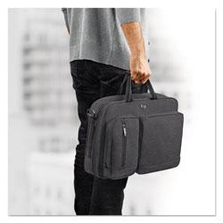 Solo Urban Hybrid Briefcase, 15.6 in, 16 3/4 in x 4 in x 12 in, Gray