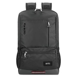 Solo Draft Backpack, 6.25 in x 18.12 in x 18.12 in, Nylon, Black