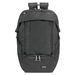 Solo Elite Backpack, 5.25 in x 21.5 in x 21.5 in, Nylon, Black
