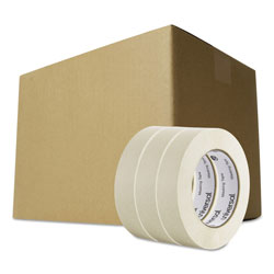 Universal Office Products General-Purpose Masking Tape, 3 in Core, 24 mm x 54.8 m, Beige, 36/Carton