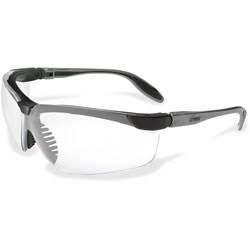 Unimed-Midwest Hypershock Safety Eyewear, Slim, Pewter