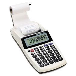Victor 1205-4 Palm/Desktop One-Color Printing Calculator, Black Print, 2 Lines/Sec