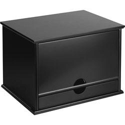Victor Desktop Organizer, 13 in x 10 1/2 in x 9-2/5 in, Black