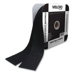 Velcro Industrial Strength Heavy-Duty Fasteners, 2 in x 25 ft, Black