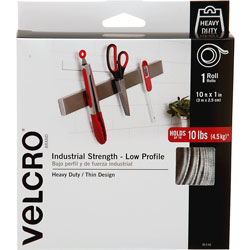 Velcro ULTRA-MATE High Performance Hook and Loop Fastener, White