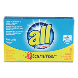 All Ultra HE Coin-Vending Powder Laundry Detergent, 1 Load, 100/Carton