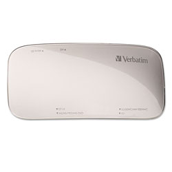 Verbatim Universal Card Reader, USB 3.0, Silver, Windows/Mac
