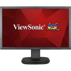 Viewsonic LED Monitor, Full HD, 20-1/5 inW x 9-2/5 inD x 16-1/2 inH, Black