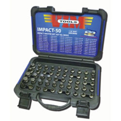 Vim Products 50 piece Impact Master Set - 3/8 in Sq. Drive